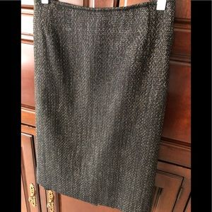 Jones New York Collection Black  straight skirt